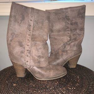 MIA Midi Suede Boots